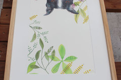 Products: Animal Art Series - Original watercolour paintings