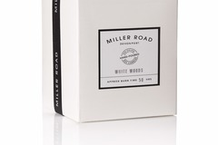 Products: MILLER ROAD CANDLE - White Woods
