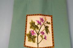 """Vente au détail: Sac cabas """"Botanique"""", canevas et tissu"""