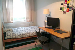 Annetaan vuokralle: Furnished Room in Shared Apartment. (Nov-Jan)