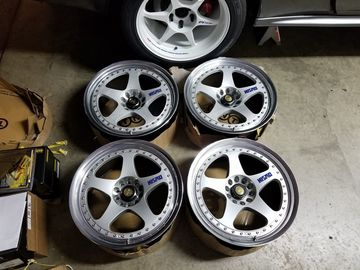 Selling: 18x9 | 5x114.3 | Nissan LMGT1s