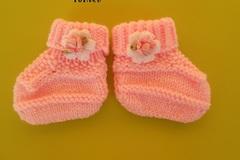 Vente au détail: chaussons bébés/tricot bébé /chaussons naissance/chausson be