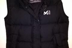 Myydään: Very warm Millet down vest size XS