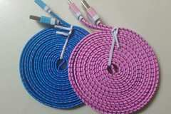 Sell: 100 pieces 10ft braided iPhone cable charger