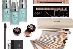 Sell: Cosmetic Brush Kits, E.l.f., L.A. Girl, & Bourjois Cosmetics