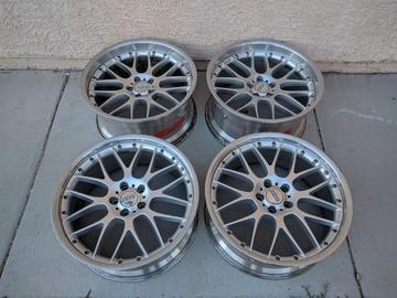 Selling: 21x9 & 21x10.5 |5x120 | BBS RX II RX515 RX516