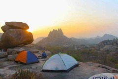 Book Online: Camp under Star Light at the Cosmic Cave in Hampi