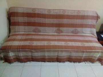 Vente au détail: Jeté marron clair (lit ou canapé)