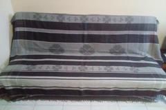 Vente au détail: Jeté gris anthracite (lit ou canapé)