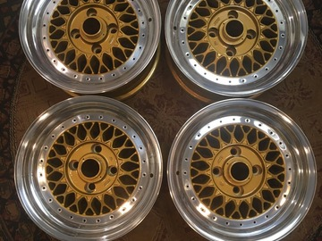 Selling: 15x7 | 4x114.3 | Enkei EK98 wheels for sale