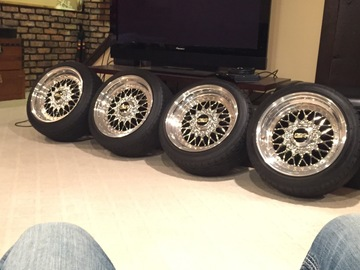 Selling: 15x8 & 15x8.5 | 4x100 | BBS RS 001 wheels for sale