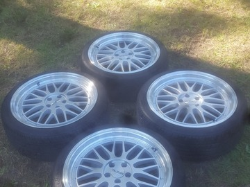 Selling: 18x8 | 5x100 | Alzor 020 wheels for sale