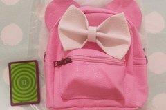 Myydään: Minnie mouse backpack