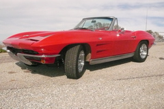 Renting out per day: 1963 Chevrolet Corvette Sting Ray