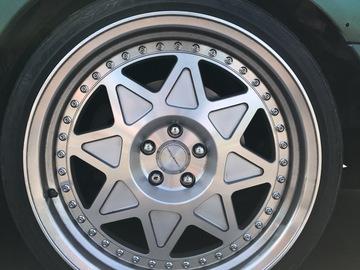 Selling: 18x9 | 5x100 | VarrsToen MK5 wheels for sale