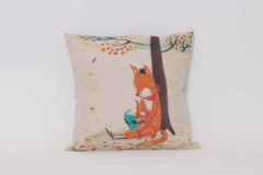 Products: Reading Foxes Cushion cover
