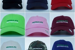 Sell: HERBALIFE NUTRITION BRANDED DAD HATS CAPS — LOT OF 54!