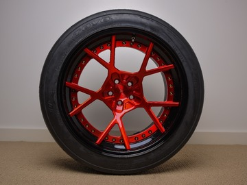 Selling: 18x12 | 5x100 | Rotiform KPS 3 Piece wheels for sale