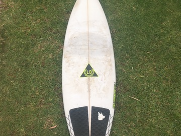 Daily Rate: LD Creations 6'0 Shortboard