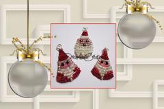 Vente au détail: Figurines de noel pour pendentif