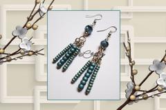Vente au détail: Boucles d'oreilles en perles de rocaille