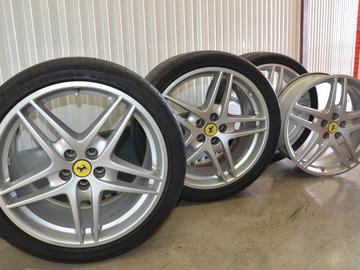 Selling: 19x7.5 & 19x10 | 5x108 | Ferrari F430 wheels for sale