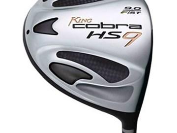 Selling: Cobra HS9-F Driver 10° Used Golf Club