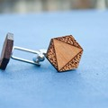Products: Reclaimed kauri cufflinks