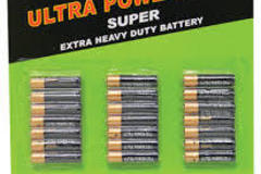 Sell: 21 pack of AAA Batteries