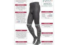 Sell: Lot of 45 Pairs of Thermal Base Layer Tights ($1664+ Retail)