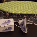 Selling: Space-saving set for ironing