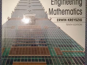 Myydään: Advanced engineering mathematics