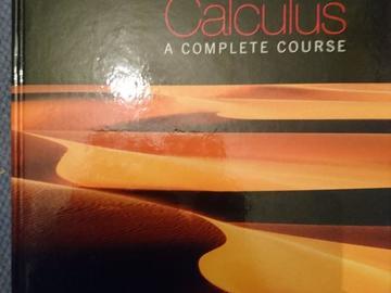 Myydään: Calculus: a complete course