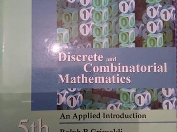 Myydään: discrete mathematics