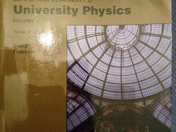 Myydään: university physics vol 1,2, and 3