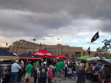 Paid Events: Notre Dame student tailgate