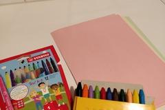 Ilmoitus: Piirustustarpeita lapsille