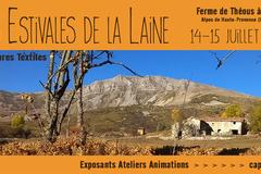 Communiqué: Les Estivales de la Laine - 14-15 juil. 2018 - Authon (04)
