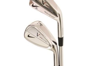 Selling: Nike VR Pro Combo/VR Pro Blade 3-PW Iron Set Used Golf Club