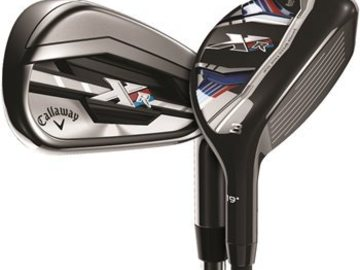 Selling: Callaway XR Combo 4H, 5H, 6-PW Iron Set Used Golf Club