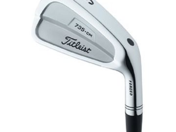 Selling: Titleist 735.CM FORGED 3-PW Iron Set Used Golf Club