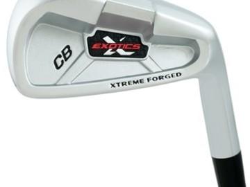 Selling: Tour Edge Exotics CB 3-PW Iron Set Used Golf Club