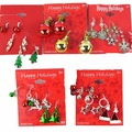 Sell: Christmas earring assortment pre price retail ready