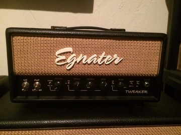 Renting out: Egnater Tweaker 15 (Head and Cab)