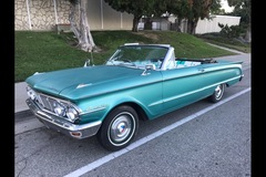 Renting out per day: 1963 Mercury Comet Convertible