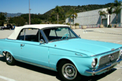 Renting out per day: 1963 Chrysler Valiant