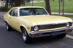 Renting out per day: 1972 Chevrolet Nova 350