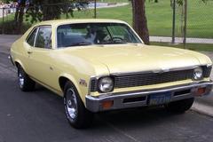 Renting out per day: 1972 Chevrolet Nova 350