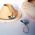 Vente au détail: Boucles d'oreille origami bateaux