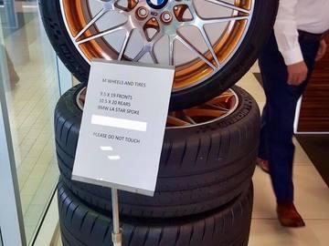 Selling: 19x9.5 & 20x10.5 | 5x120 | OEM BMW M4 GTS